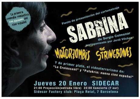 Sabrina en Sidecar